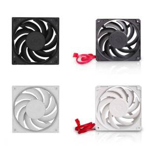 DHgate fans & coolings 120mm large air volume cpu cooler fan 2200/3000rpm 12v 4pin high speeed silent radiator chassis cooling