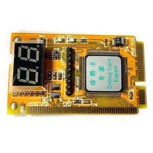 DHgate hubs 3 in 1 mini pci/pci-e lpc pc lapanalyzer tester diagnostic post test card for litecoin btc mining