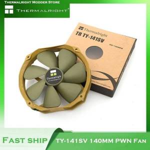 DHgate fans & coolings thermalright ty-141sv 14cm pwm fan cpu cooler 12cm mounting hole 300-1300 rpm 73.6 cfm quiet large air volume
