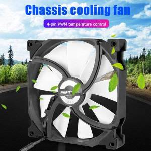 DHgate fans & coolings 4 pin pwm silent chassis cooler speed adjustable deskpc case radiator fan cooling cpu