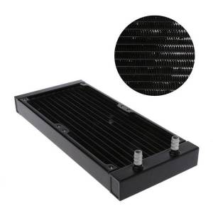 DHgate fans & coolings c5ab 240mm 12 tube cpu heat sink aluminum pc case water cooling radiator exchanger