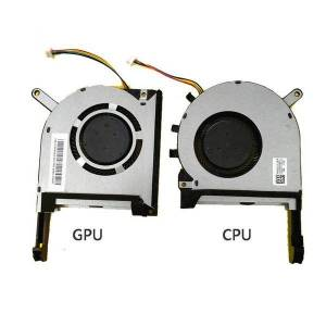 DHgate lapcooling pads original cpu gpu fan for asus fx95d fx95g fx705g fx505d