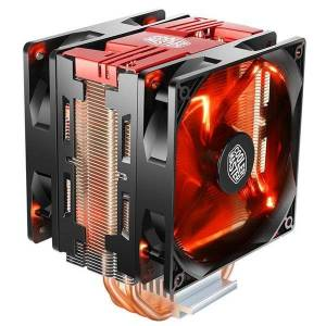 DHgate fans & coolings cooler master t400 pro 4 heat pipe cpu dual 120mm quiet fan radiator for intel 115x amd am4 cooling