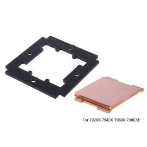 DHgate lapcooling pads k3nb diy replaced cpu pure copper cover for 7800x 7820x 7900x 7920x 7940x 7960x 7980xe 2066 port interface