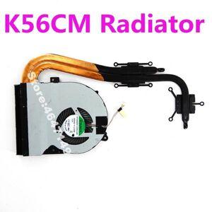DHgate lapcooling pads k56cm for asus s56cb s56ca s56cm s56c k56c r505c k56cb cpu fan heatsink heat sink cooler radiator