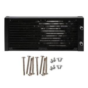 DHgate fans & coolings 240mm 12 tube cpu heat sink aluminum pc case water cooling radiator exchanger