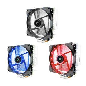 DHgate fans & coolings 4 heat pipes 2000rpm mute radiator enclosure box cpu cooling fan 3pin sink for intel lga amd 1155