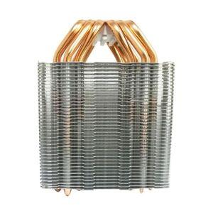 DHgate lapcooling pads 6 heat pipe cpu cooler no fan heatsink fanless radiator for intel 775/1150/1155/1156/1366 amd all