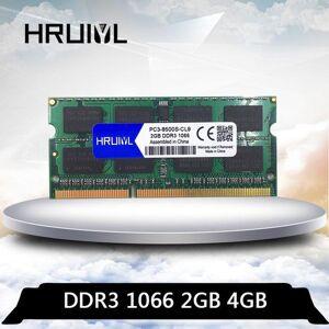 DHgate hruiyl ddr3 4gb 2gb 1066 mhz 1066mhz pc3 8500s 2g 4g so-dimm memoria notebook ram 204 pin 1.5v lapmemory1