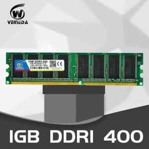 DHgate veineda ddr1 2gb 2x1gb 2.5v ddr 1gb pc3200 ddr400 400mhz 184pin deskddr memory cl3 dimm ram 2g non-ecc1