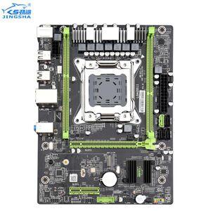 DHgate jingsha x79 motherboard lga2011 cpu matx usb3.0 sata3 pci-e nvme m.2 ssd x79 lga 2011 motherbboard dual channel ddr3 up to 64gb