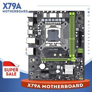 DHgate support reg ecc server memory x79a motherboard xeon lga1356 processor m- atx sata3 usb3.0 dual channel pci-e 16x nvme m.2 ssd