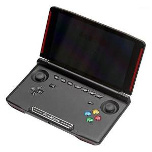 DHgate powkiddy 2g ram 16g rom classic game player for psp dc gba md arcad powkiddy x18 android 7.0 5.5 inch lcd sn game console1