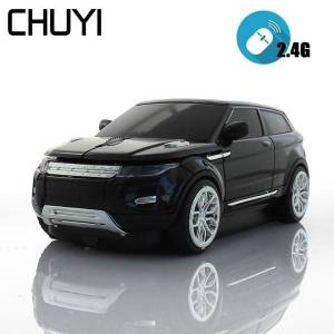 DHgate 3d wireless mouse computer mice sport suv car model mouse 1600dpi with usb receiver mause for pc tablet lapgaming