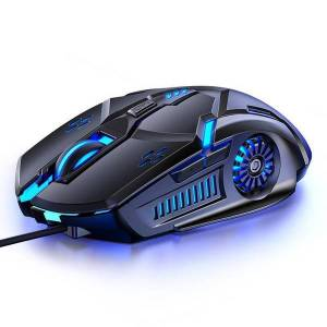 DHgate professional wired gaming mouse 6d 4-speed dpi rgb mechanical gaming mice for pubg computer lapmouse