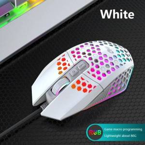 DHgate mice professional wired gaming mouse 6 button 3200dpi led optical usb computer game silent mause for pc lapgamer