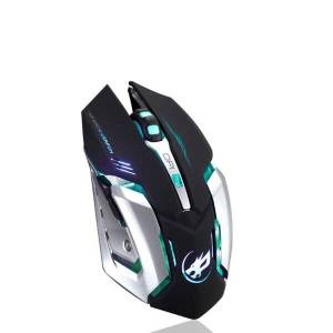 DHgate mice rechargeable t1 wireless silent led backlit usb optical ergonomic gaming mouse ratón inalámbrico para juegos