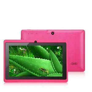 DHgate 2020 q88tablets wifi 7 inch 512mb ram 8gb rom allwinner a33 quad core android 4.4 capacitive tablet pc dual camera facebook-1