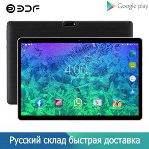 DHgate russian 2021 upgrade 10.1 inch tablet pc android 9.0 tablets 3g phone call wifi bluetooth 2gb/32gb dual sim cards tab