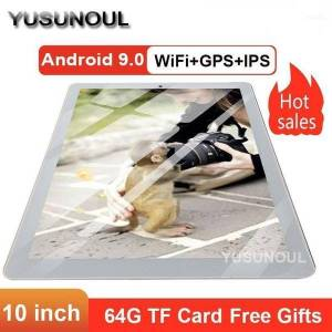 DHgate sale 2021 tempered 2.5d 10 inch tablet pc 3g android 9.0 quad core 32gb rom wifi gps 10.1 ips gifts+64gb tf card11