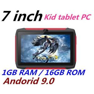 DHgate 2020 new kid tablet pc q98 quad core 7 inch 1024*600 hd screen android 9.0 allwinner a50 real 1gb ram 16gb q8 with bluetooth wifi