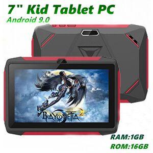 "DHgate kids brand tablet pc 7"" 7 inch q98 quad core a33 1024*600 hd screen android 9.0 allwinner a50 real 1gb + 16gb with bluetooth pk q8 mq10"