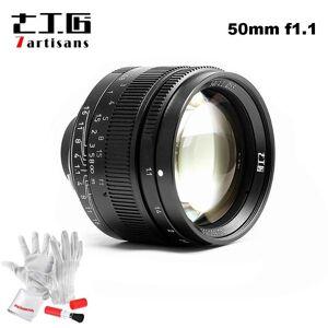 DHgate 7artisans 50mm f1.1 m mount fixed lens for leica m-mount cameras m-m m240 m2 m4 m4p m5 m6 m7 m8 m9 m9p m10