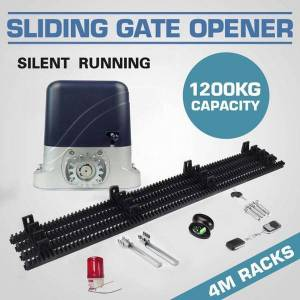 DHgate autogate systemsliding electric gate opener 1300kg automatic ac motor with 2 4 6 8 10 12 14 16 18 20 remote controls option1