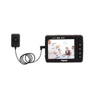 DHgate cameras portable video recorder mini car dvr angel eye av output loop recording security vehicle driving camera(us) 750 black