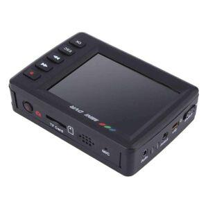 DHgate cameras portable mini video upgraded angel eyes av output car dvr - black