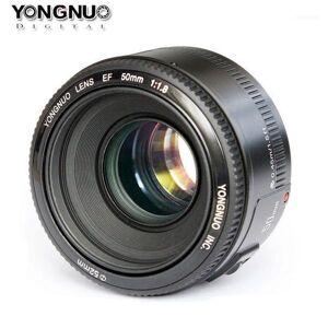 DHgate lens yn50mm f1.8 yn ef 50mm f/1.8 af yn50 aperture auto focus for canon eos 60d 70d 5d2 5d3 600d dslr cameras11
