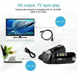 DHgate camcorders 1080p hd camcorder digital video camera 2.7inch tft lcd 24mp 16x zoom dv av night vision mini dvr recorder drop