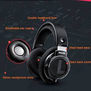 DHgate philips professional headphones shp9500 with active 3 meters long headsets for xiaomi samsung smart devices