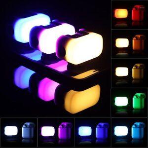DHgate ulanzi vl15 mini rgb led video light 8 colors portable fill light with softbox diffuser 2w 750mah battery type c vlog1