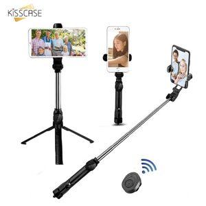 DHgate kisscase bluetooth selfie stick remote control tripod camera tripod handphone live p holder for samsung galaxy s20 ultra