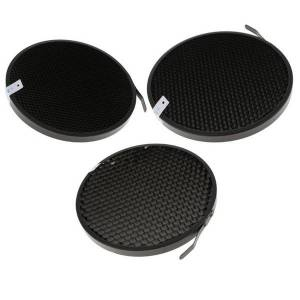 DHgate 3pcs 60 50 40 degree honeycomb grid mesh for 7inch standard reflector diffuser lamp shade pgraphy acces