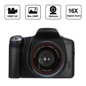 DHgate 16x digital zoom hd handheld digital camera black hd display with flash lamp recorder dvr shooting convenient camcorder