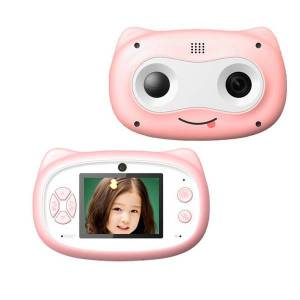 DHgate jozuze 2.0 inch screen kids camera mini digital 12mp p children camera with 600 mah polymer lithium battery toys gift