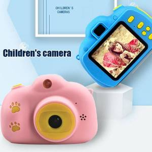 DHgate jozuze rechargeable p video playback cameras kids toy for boy girl 32gb mini children's camera child birthday present