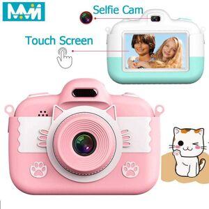 DHgate 18mp full hd mini children camera camera 3.0'' digital touch screen lcd ips display for kids education birthday gift