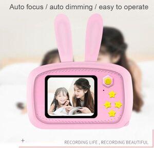 DHgate digital cameras children`s camera hd cute cartoon bear bee shape mini 2000w auto focus toy gift for kids1