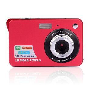 DHgate digital cameras est 18mp max 5mp cmos sensor 8x zoom 2.7 inch anti-shake function face detection smile capture