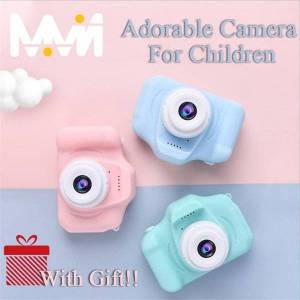 DHgate digital cameras super cute children camera kids educational toy baby birthday 1080p video with gift for girl