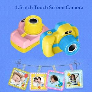 """DHgate 5.0mp kids camera hd 1080p touch screen children digital 1.5"""" lcd mini educational cameras toy cute birthday gifts"""