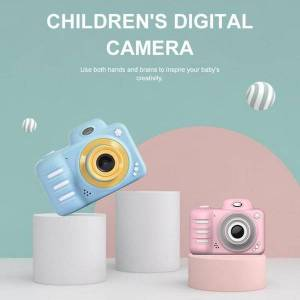 DHgate 2.4inch cartoon camera kids hd digital video recorder educational toys gift for children's birthday christmas cameras