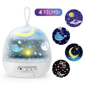 DHgate dhl factory wholesale starry sky projection lamp christmas usb rotating dream children's projector creative led atmosphere night light