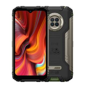 DHgate doogee s96 pro triple proofing phone, 8gb+128gb 6350mah battery, quad back cameras, side fingerprint identification, 6.22 inch android 10.0