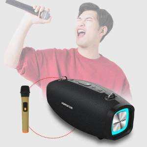 mini speakers hopestar h1 party bluetooth speaker wireless subwoofer outdoor portable loudspeaker music player hifi with microphone