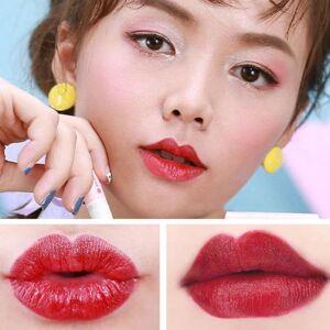 DHgate fashion 4 colors natural waterproof creative cigarette potato lipstick color lipstick sweet set set rotten w6h2