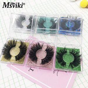 DHgate 3d mink lashes wholesale dramatic long 25mm false eyelashes extension makeup 5d magnetic lashes vendor mink eyelashes bulk